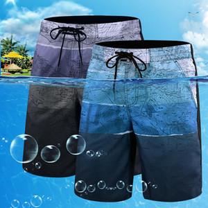 Schnell trocknend Herren Bademode Plus Size Badeanzug Männer Druck Badeanzug-Sommer-Strand-Schwimmen-Hosen Herren Bademode Shorts L-6XL