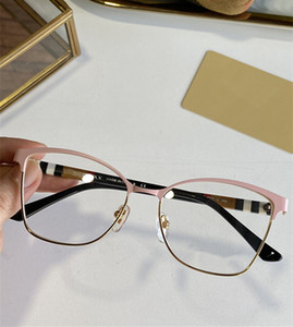 Newarrival BE2352 أنيقة سيدة فراشة نظارات إطار 53-18-140 جودة المعادن fullrim + منقوشة بليد فولريم لصحة وصفة كاملة مربع