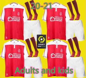 Les adultes et les enfants 20 21 Stade maillots de football Reims maison loin Disasi 6 Cafaro 24 KONAN 3 DIA 11 Foket 32 CHAVALERIN 7 Zeneli 102020 jersey 2021