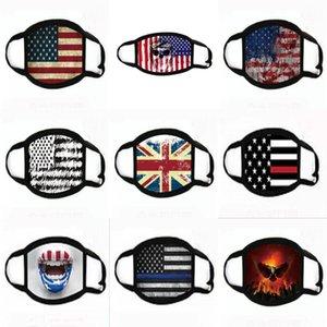 Cotone di protezione Black Mask antipolvere Inquinamento unisex, Viso, Bocca Maschere lavabile riutilizzabile per il lavoro domestico di fumo in bicicletta campeggio da sci # 140