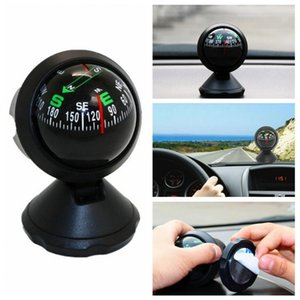car Compass Portable Durable ABS Hiking and Camping Camping & Hiking Black Electronic Adjustable Military Marine Ball Night Vision Com AB5o#