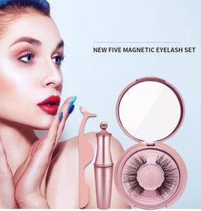 Magnetic Eyeliner magnet eyelash suit magnetic false eyelash magnetic Eyeliner set magnet eyelash dhl free shipping