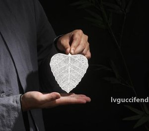 Filtro criativo Bodhi Tea Leaf inoxidável Folha de aço Tea Leak Filtro