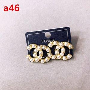 2020 heiße Kristall Ohrringe Modedesigner Ohrringe Luxuxrhinestone Ohrringe elegante Damen Markenschmucksachen freies Verschiffen