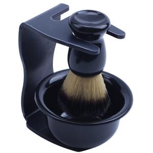 Rasierer für Männer Entfernung Haar Rasierpinsel Halter + Badger Bürste + Schüssel Seife