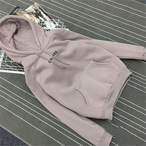 Autumn Winter Fleece Oh Yes Letter Harajuku Print Pullover Thick Loose Women Hoodies Sweatshirt Female Clothes Pink Casual Coat MX200613