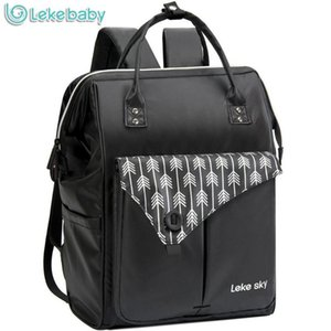 Lekebaby Fashion Mummy Maternity Nappy Bag Brand Large Capacity Baby Bag Travel Backpack Designer Nursing for Baby Care