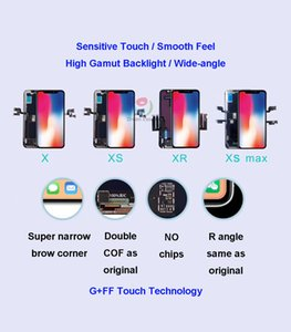 Premium LCD Screen for iPhone X XS XR Assembly Display Double COF Technology Shenchao SL Brand New & Free DHL shipping
