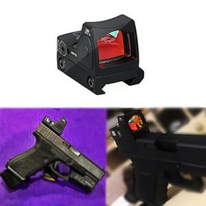 HQ тактический пистолет Mini RMR Голографическая Red Dot Sight Scope Для Glo ск Base Mount / Стрелковое Weaver 20мм Пикатинни бесплатно