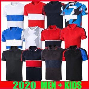 новые Maillots де 20 21 PSG футболу POLO трикотажных изделий Survetement 2020 2021 Сорочки d'entraînement MBAPPE ICARDI футбол подготовки спортивного костюма рубашки