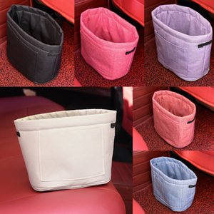 Oxford Rubbish Organizers Storage Bag Mini Garbage Bin Dust Case Holder Box for Home Car Recycling Containers Bag ZA5056