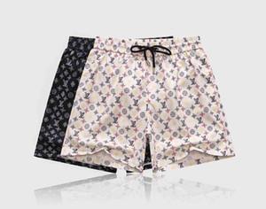 Designer pantalons de plage de luxe de style nouvelle plaque de couleur unie occasionnels broderie impression shorts pour hommes de mode short d'été des hommes plage natation s