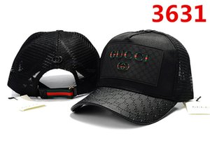 Großhandel Baseball-Kappen Luxus-Designer-Kappe Stickerei Kappen für Männer Hysteresenhut Herren Hüte casquette Golf Visier gorras GUCCI Verstellbare Kappen