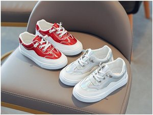 Girls casual breathable kids white shoes spring and autumn new kids shoes boys flat soft sole sports shoes