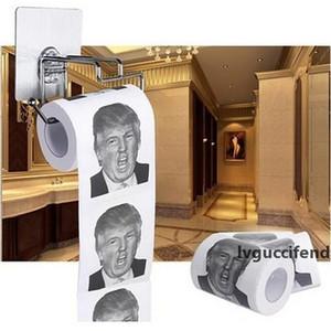Le président Barack Obama Hillary Trump Toilet Paper TP Roll est drôle nouveauté Gag Idée cadeau Trump Hillary Toilet Paper