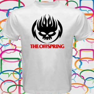 The Offspring Logo T-shirt Rock Band blanc Homme Taille S à 3XL