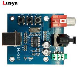 ortable Audio Video d.a.c. () S / PDIF Ses Kartı hıfı DAC Dekoder Kurulu 3.5mm Analog Koaksiyel PCM2704 Ses DAC USB ...