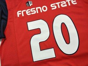 CUSTOM hommes, jeunes, femmes, enfant en bas âge, Fresno State Bulldogs personnalisé TOUT NOM ET NUMÉRO FORMT Cousu Top jersey College Qualité