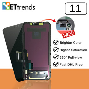 Quality A+ Lcd Screen for iPhone 11 Digitizer Assembly with Full-View + High Resoultion DHL Free Shipping