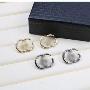 Mode Alphabet Boucles Goujons lettres GG Designer Boucles d'oreilles Vintage Femmes Marque Boucle d'oreille Accessoires Bijoux Boucles d'oreilles de personnalité