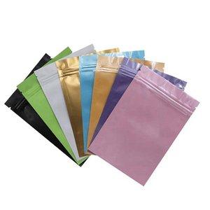 Remise fabricants sur mesure thermoscellage Emballage Aluminium Foil Mylar résistant Zip Verrouillage.Vous Sacs DHL UPS gratuit