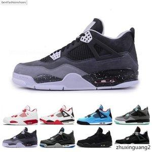 2019 Bred 4 4s Men Basketball Shoes Tattoo Singles Day Raptors Pure Money Royalty Hot Punch Mens Designer Trainer Sport Sneaker Size 41-47