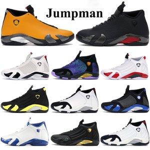 2020 Nouvelle haute 14s Jumpman Basketball Chaussures Hommes Université gymnase turbo rouge noir anthracite or sneakers dernière canne à sucre shot INDIGLO Formateurs