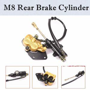 Задний гидравлический дисковый тормоз суппорт Главный цилиндр для ATV QUAD Buggy 50 70 90 110 125CC ATV DIRT BIKE CRF