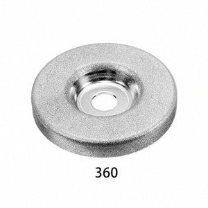 1шт 56мм 180/360 Grit алмазный шлифовальный круг Grinder камень точилка Угол резки колеса Роторный инструмент AYbQ #