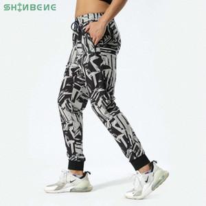 SHINBENE rapide taille Dry Sport Fitness Drawstring Joggers Hommes Loisirs Prints Courir Workout Gym Sweatpants avec Pocket M-3XL Y8PK #