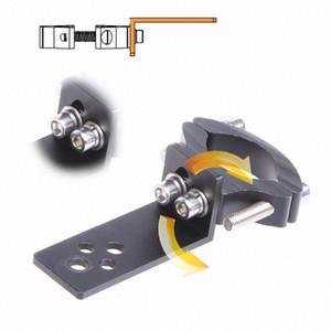 2sets Support universel TG11 / TG13 moto phare Support tube de fourche Spotlight Porte-Clamp Cafer Racer Chopper Ect YDAd #