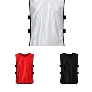 Voluntarios de publicidad de la camisa partido de fútbol número traje de entrenamiento de baloncesto adulto Baloncesto del chaleco del chaleco del juego del equipo de los niños