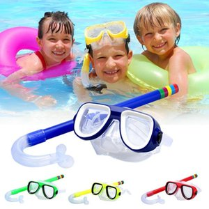 Snorkeling Children Diving Goggles + Suction Tube Set New Material Pvc Non-Toxic Environmental Protection Material Set Diving To