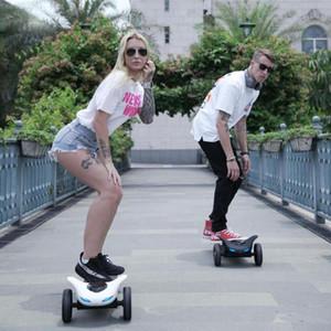 Scooter à plateau à plateau de skateboard électrique à planche à roulettes Urban Tongboard adulte Hoverboard adulte avec panneau de patinage à distance Bluetooth