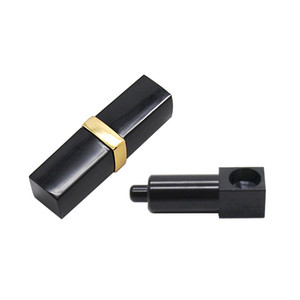 TOPPUFF Metal Pipe Hidden Lipstick style smoking Pipe 61MM long With Aluminum Bowl Pocket Size Pipe Accessories