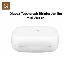 XIAOMI YOUPIN XIAODA Mini Toothbrush Disinfection Box Sterilizer Case UVC Sterilization Portable USB Chargeable Smart Home free shipping