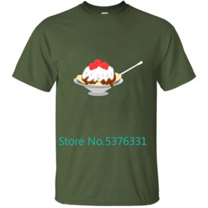 Funny Sundae Men T-Shirt T Shirt Tshirt For Men Clothes O-Neck Fitness Male Plus Size 2019 Hip Hop Dry Fit