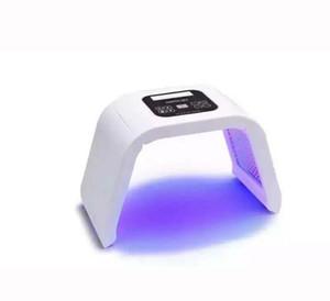 Taşınabilir PDT Işık Terapi Yüz Makine LED Lamba 4 Renk Foton Led Cilt Gençleştirme Kırışıklık Akne Kaldırma LED