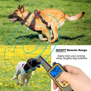 875 Yard Dog Shock Training Collar W  Remote Waterproof Electric For Large Pet
