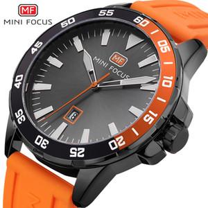 Minifokus Männer Top-Marke Watche Mann-Quarz-Uhr-Mann beiläufige Art und Weise Uhren der Männer-Silikon-Bügel-Uhr-Quarz-Uhr-Multifunktions-Uhr