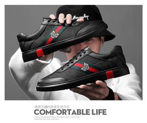 Простые Мужская обувь Luxury Flat Walking обуви Zapatillas HOMBRE платье партии Свадебная обувь Большой размер 38-45 16
