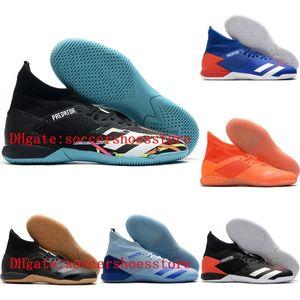 2020 top quality mens soccer shoes PREDATOR 20.3 IC indoor soccer cleats Predator 20 football boots high ankle botas de futbol 001