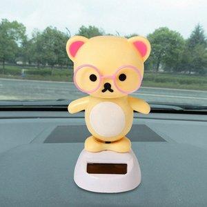 Car Interior Acessórios Solar Powered Dança animal Swinging Animated Bobble Dancer Toy Decor Car New # P10 VWpU #