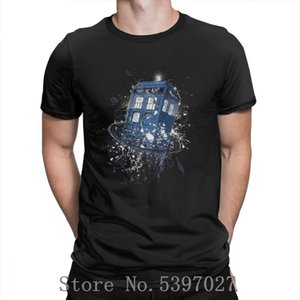 Breaking The Time Doctor Who T Shirt Short Sleeve Fitness Tshirt Men Pp Rock cotton O-Neck T Shirts Big Size Men