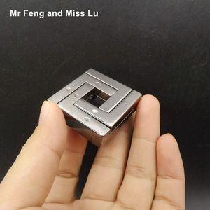 Metal Cast Puzzle Ring пересобираться Игры разума Мозг Пазлы Игрушки Детские MX200414