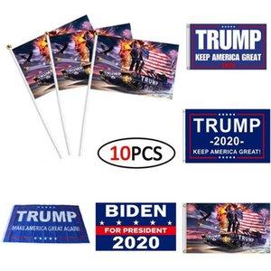 США Фото! Мода Trump 2020 Флаг 90 * 150см Классический Donald Keep America Great Digital Print США Баннер Party Decor