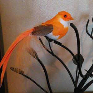 12*3CM 12PCS Decorative Birds Artificial Foam Feather bird with Magnet DIY Craft Decor For Wedding Party