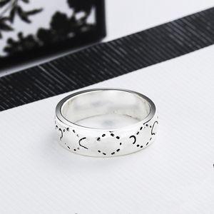 أفضل بيع خواتم الفضة مطلي قزم الجمجمة حلقة مع رجل أو امرأة هدية جودة عالية سبائك الدائري الأزياء والمجوهرات العرض