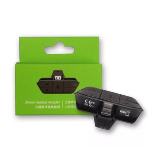 HOT xbox one stereo headset adapter supports third-party headsets the microphone can adjust the headset sound level invited friends