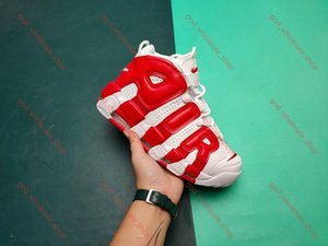QS New xshfbcl 2019 Olympic Varsity Maroon more Mens Basketball Shoes 3M Scottie Pippen air Uptempo Chicago Trainers Sport Sneakers